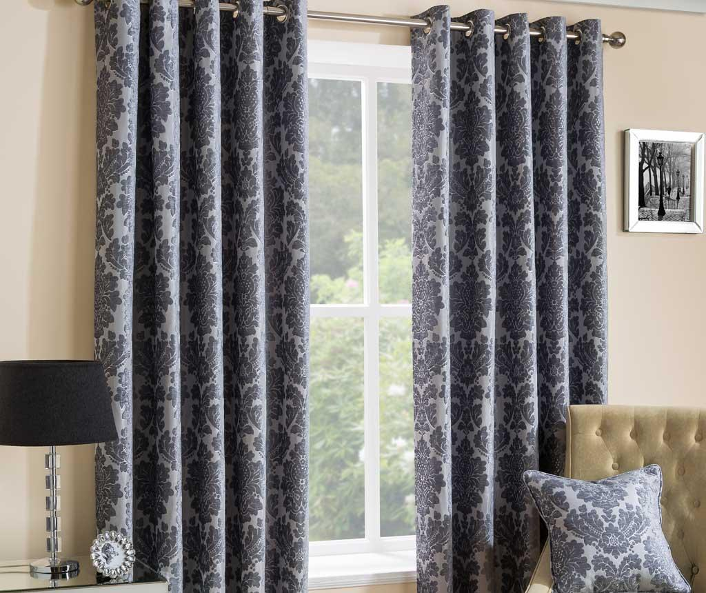 Set 2 draperii Park Lane Grey 229x183 cm