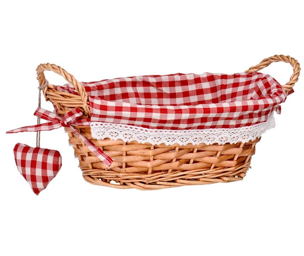 Cos Gingham Oval Red