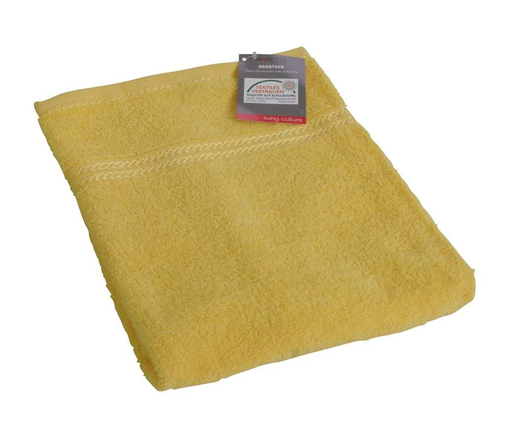 Prosop de baie Handy Yellow 50x100 cm
