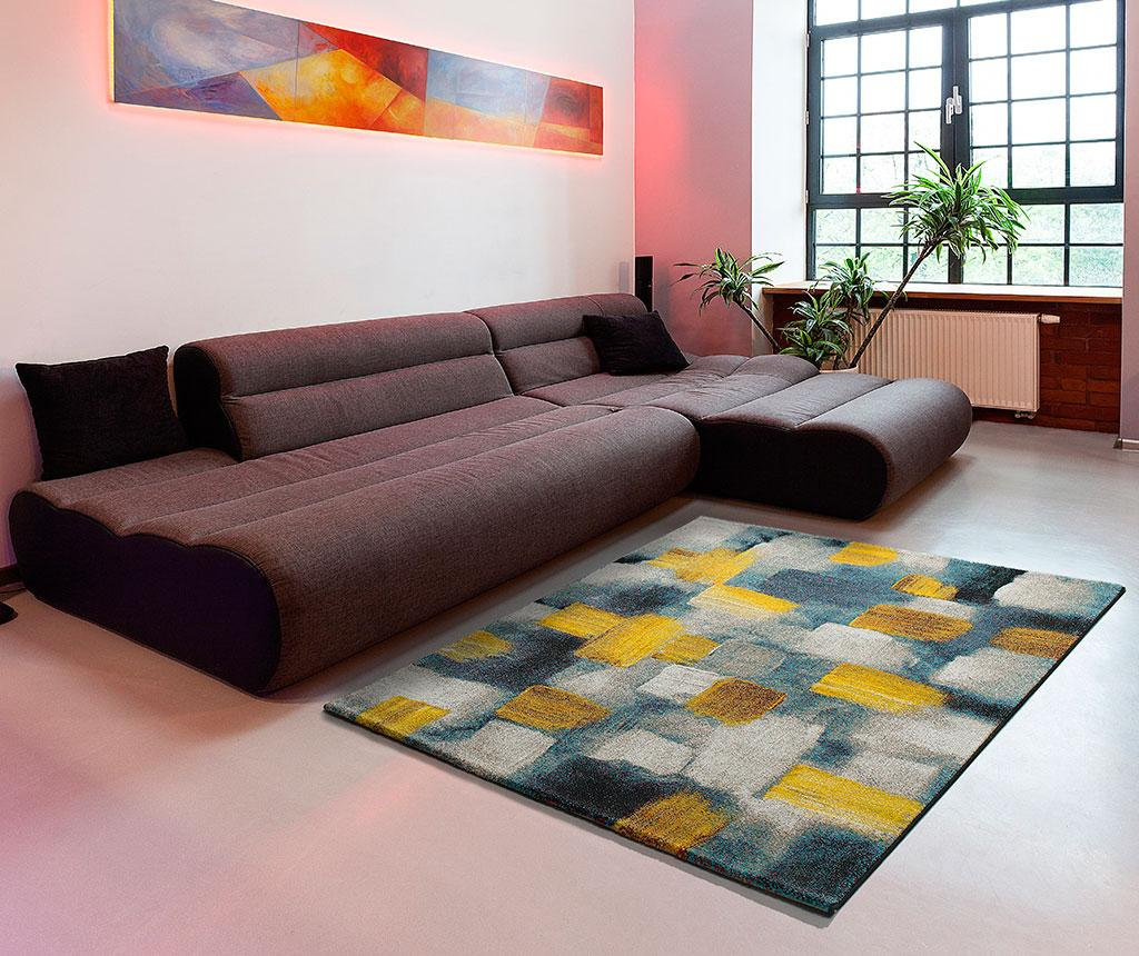 Covor Squares Yellow 120x170 cm