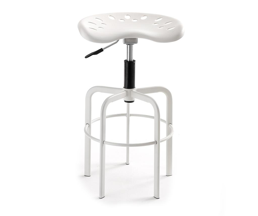 Scaun de bar Wivi White