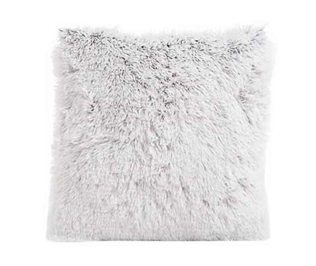Perna decorativa Fur Grey 45x45 cm