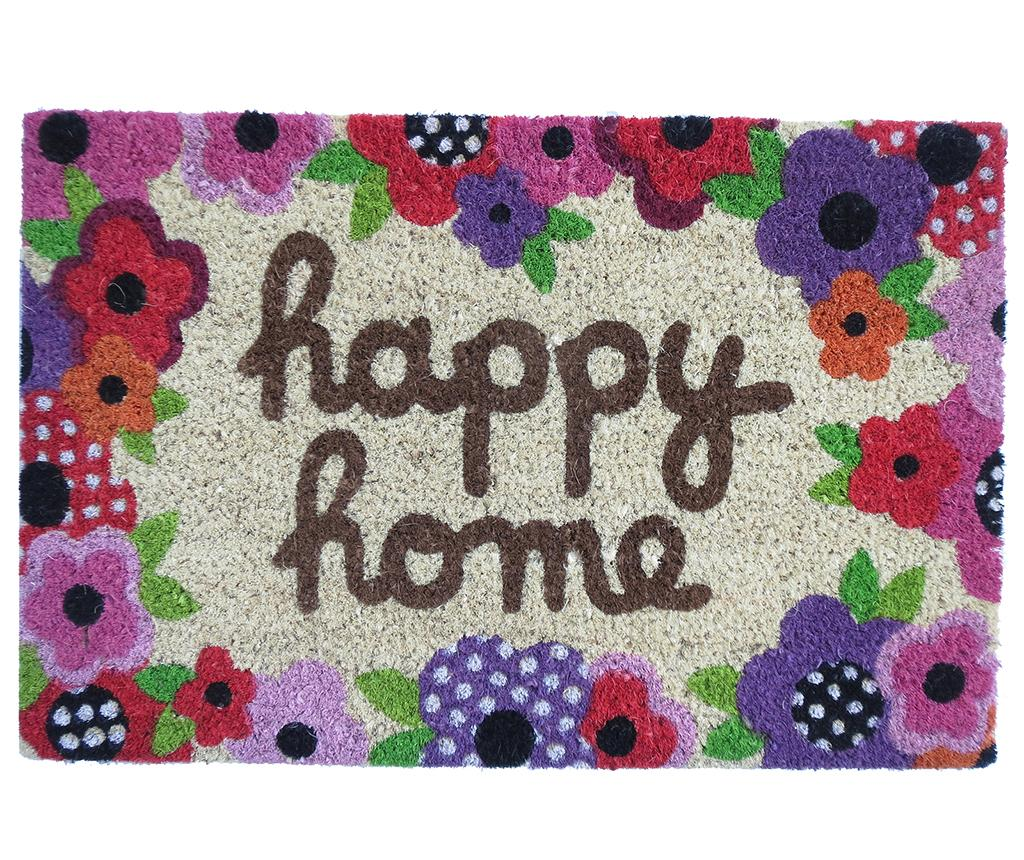 Covoras de intrare Happy Home 40x60 cm