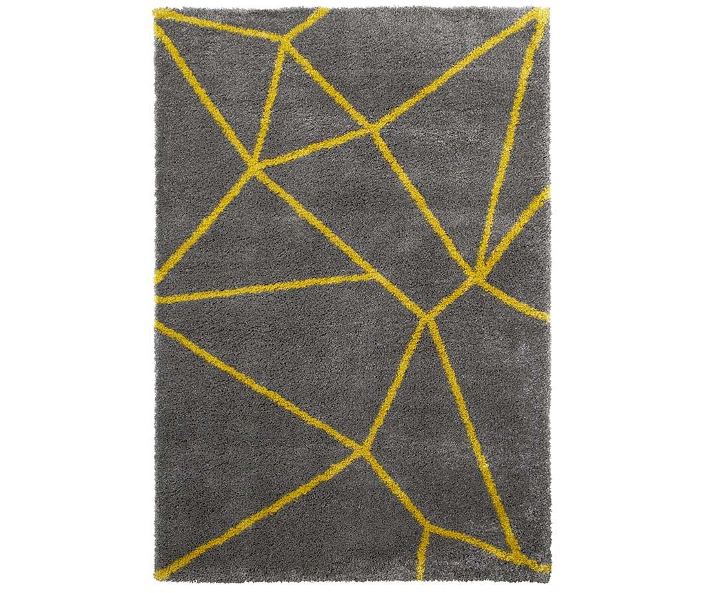 Covor Nomadic Grey Yellow 120x170 cm