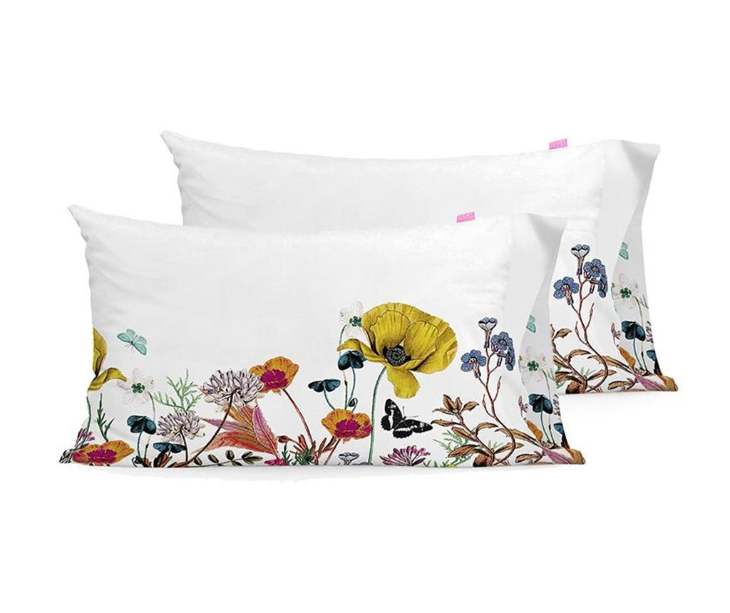 Set 2 fete de perna Birds of Paradise 50x75 cm