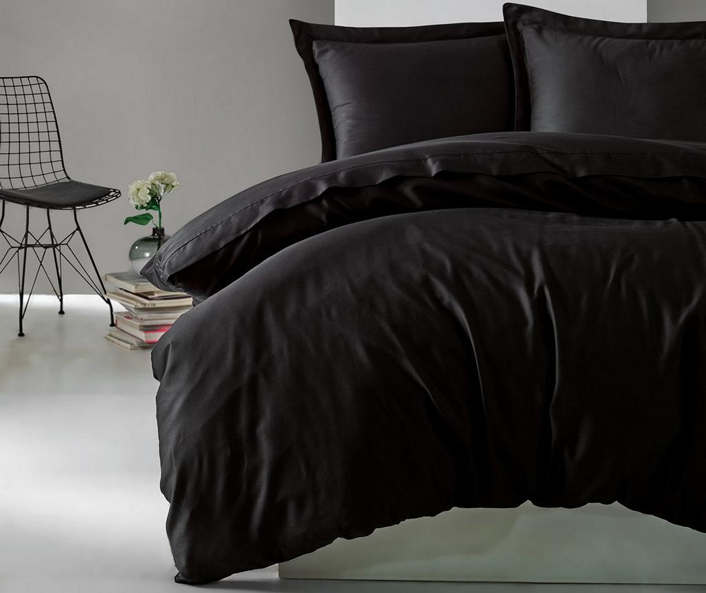 Lenjerie de pat King Satin Supreme Elegant Black