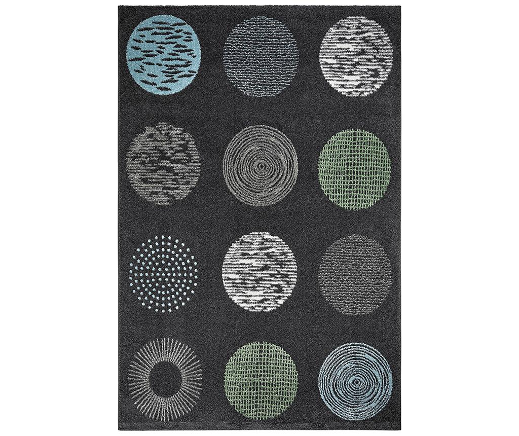 Covor My Bronx Anthracite Dots 120x170 cm