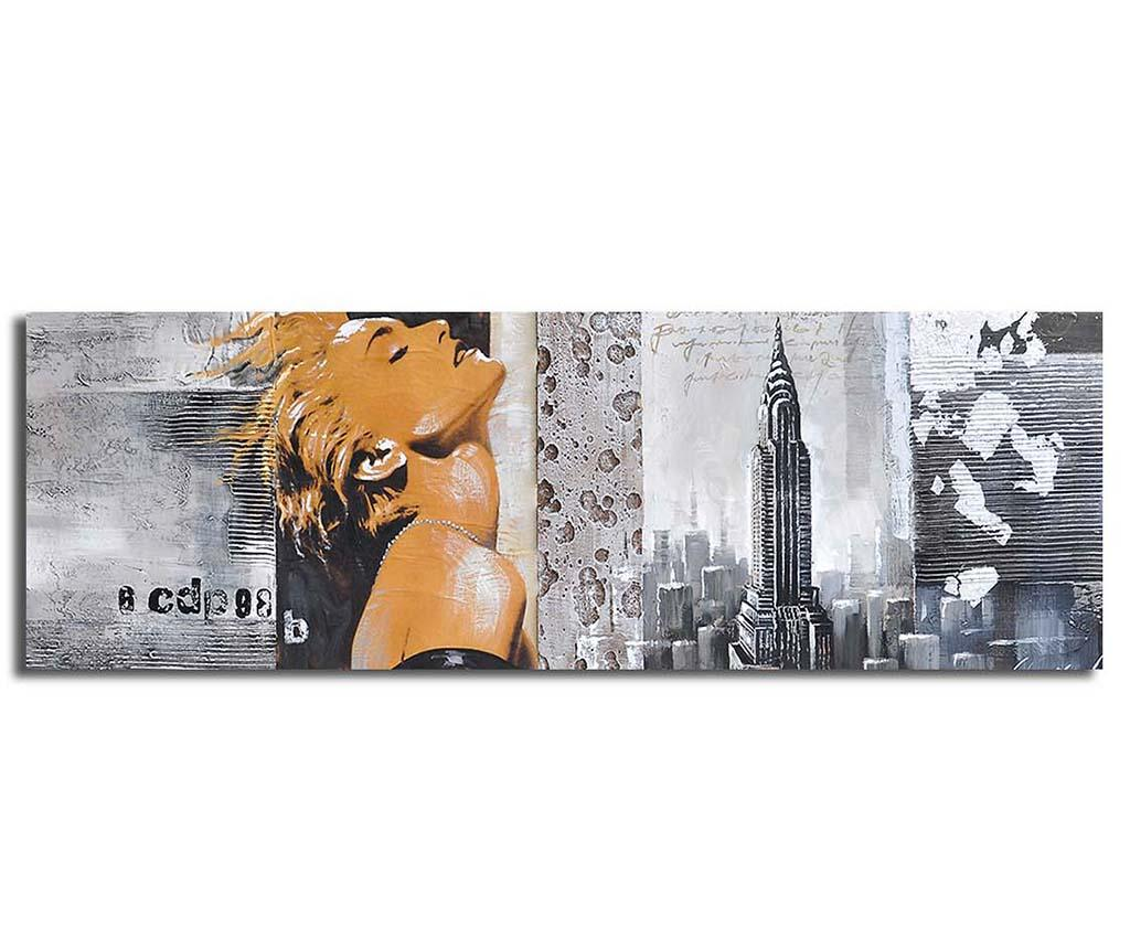 Tablou Blonde Girl 30x90 cm