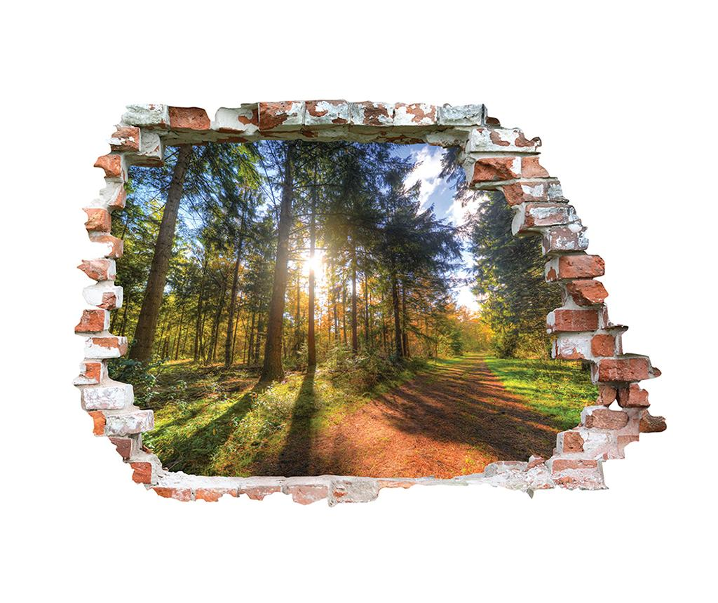 Sticker 3D Chemin Forestier