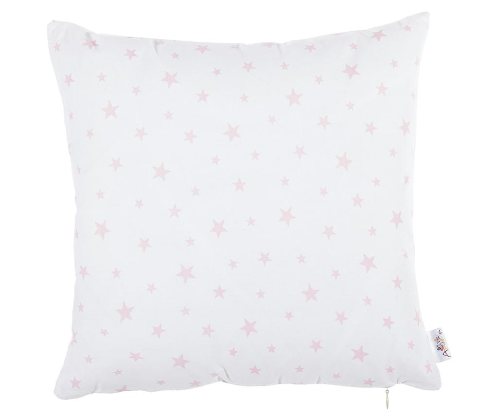 Fata de perna Sky Star White and Pink 35x35 cm