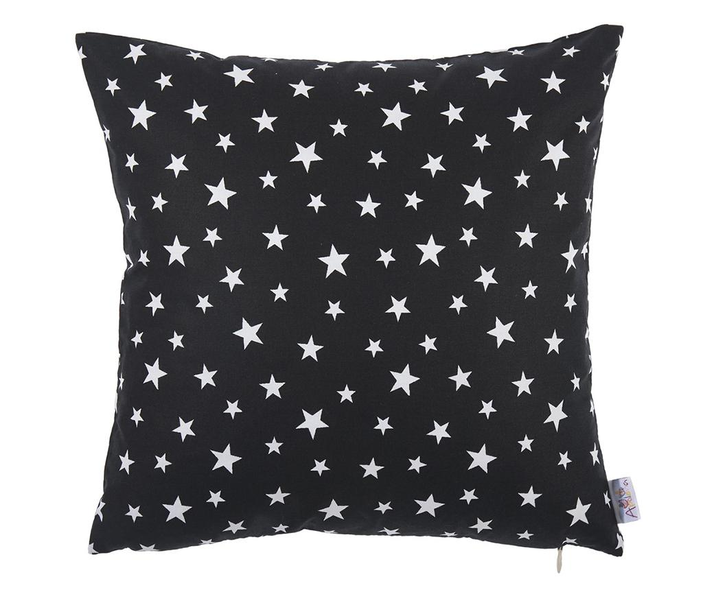 Fata de perna Sky Star Black and White 35x35 cm