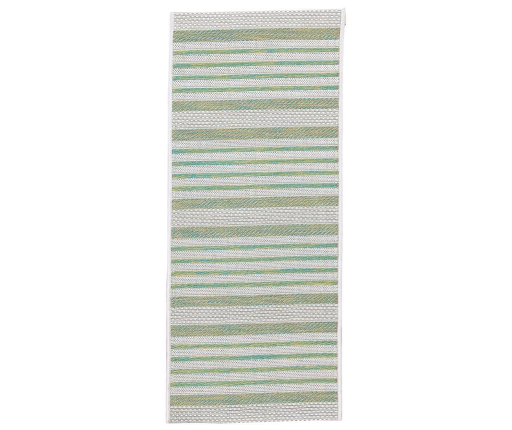 Covor tip pres Stripes Green 50x115 cm