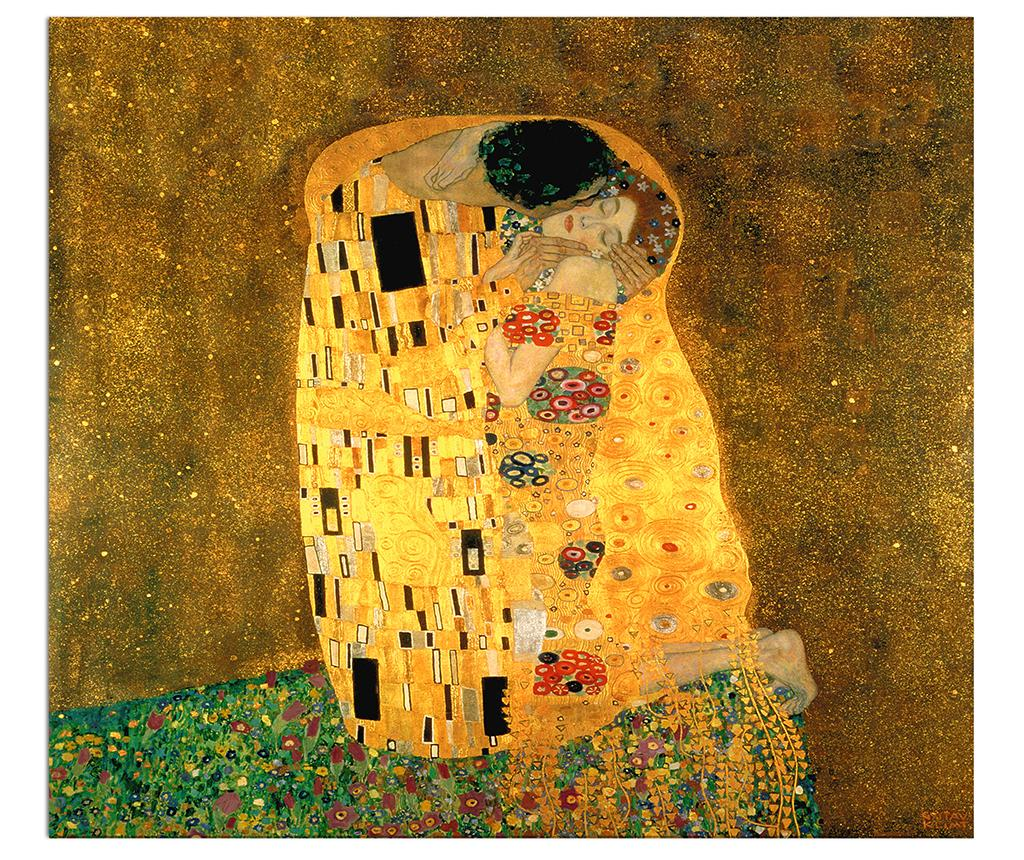 Tablou Klimt The Kiss 120x140 cm