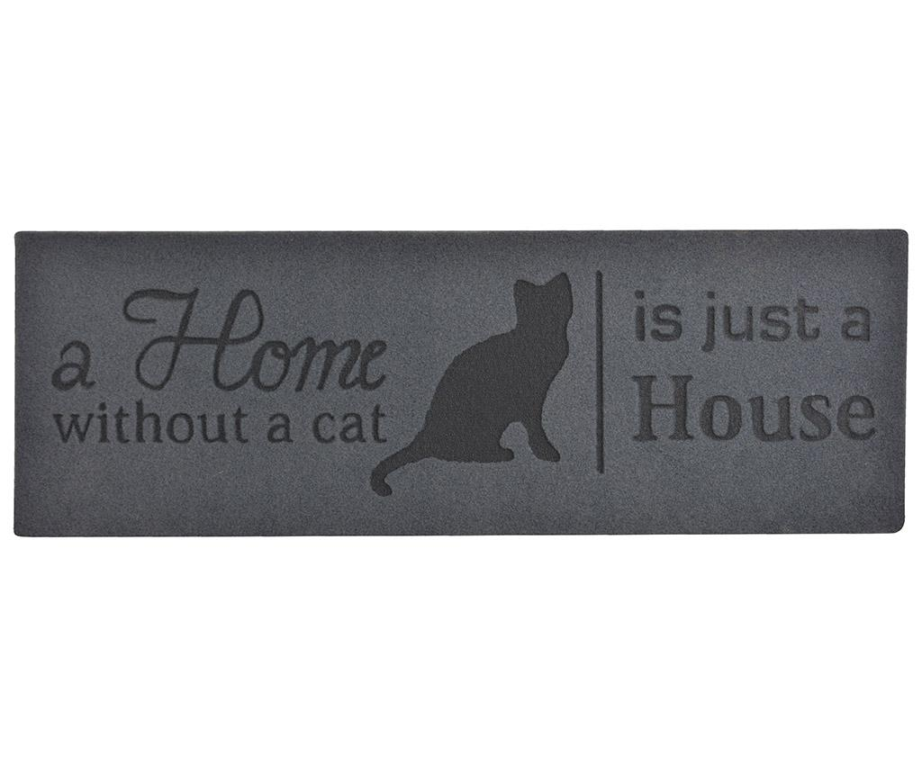 Covoras de intrare Home Without Cat 26x75 cm