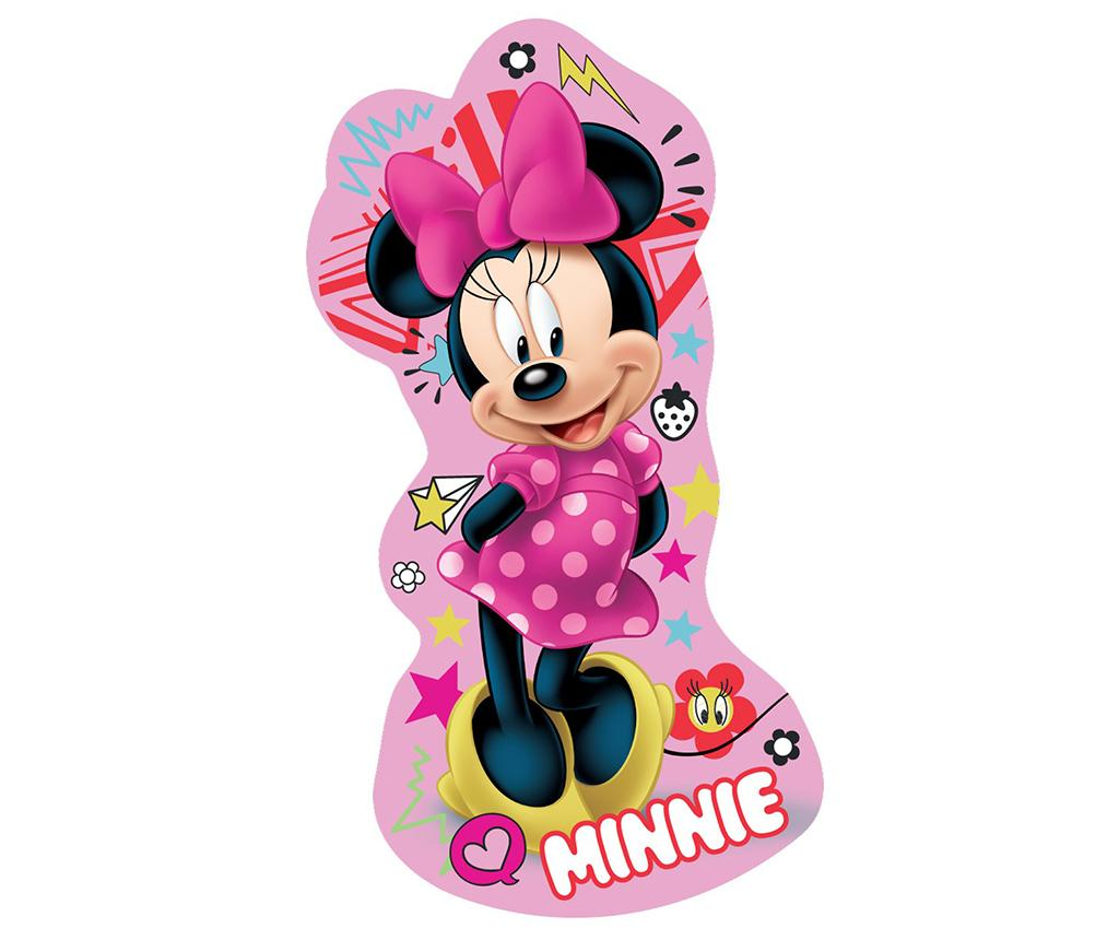 Perna decorativa Minnie Mouse Pink 19x35 cm