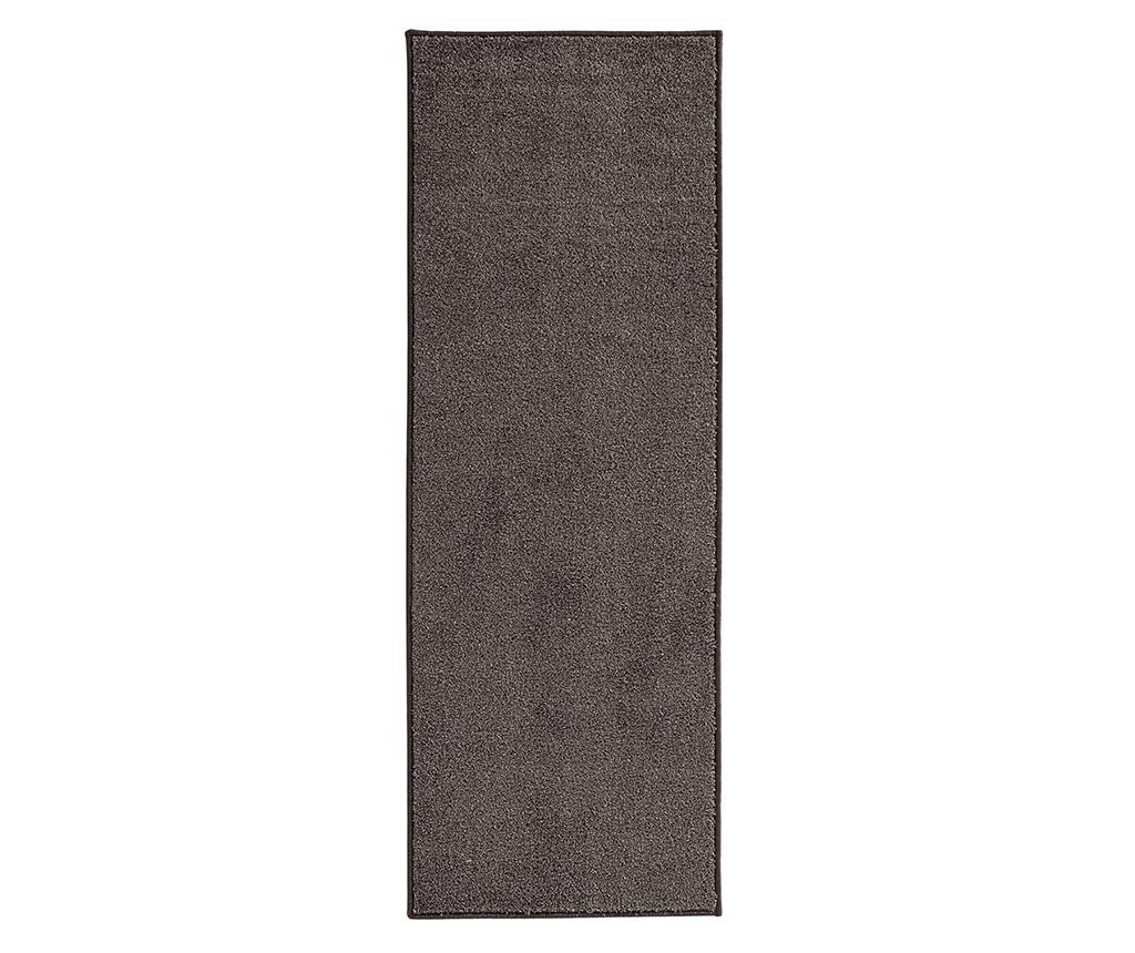 Covor Pure Runner Brown 80x300 cm