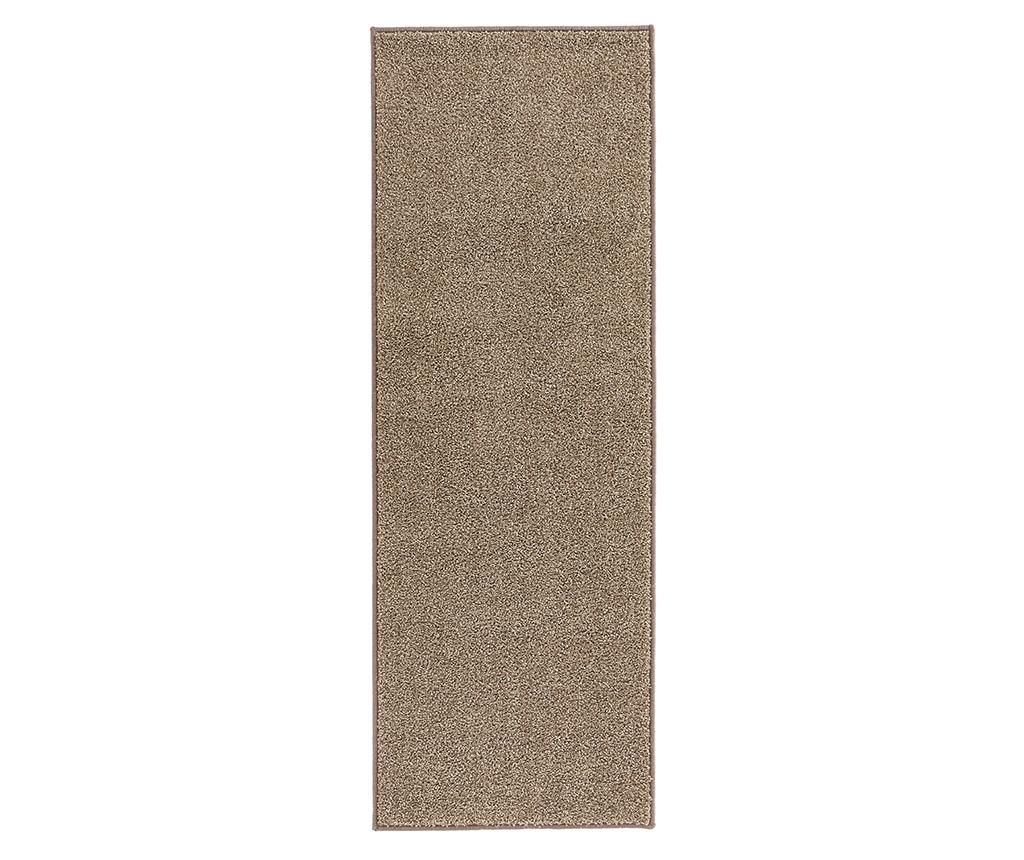 Covor Pure Runner Brown 80x150 cm