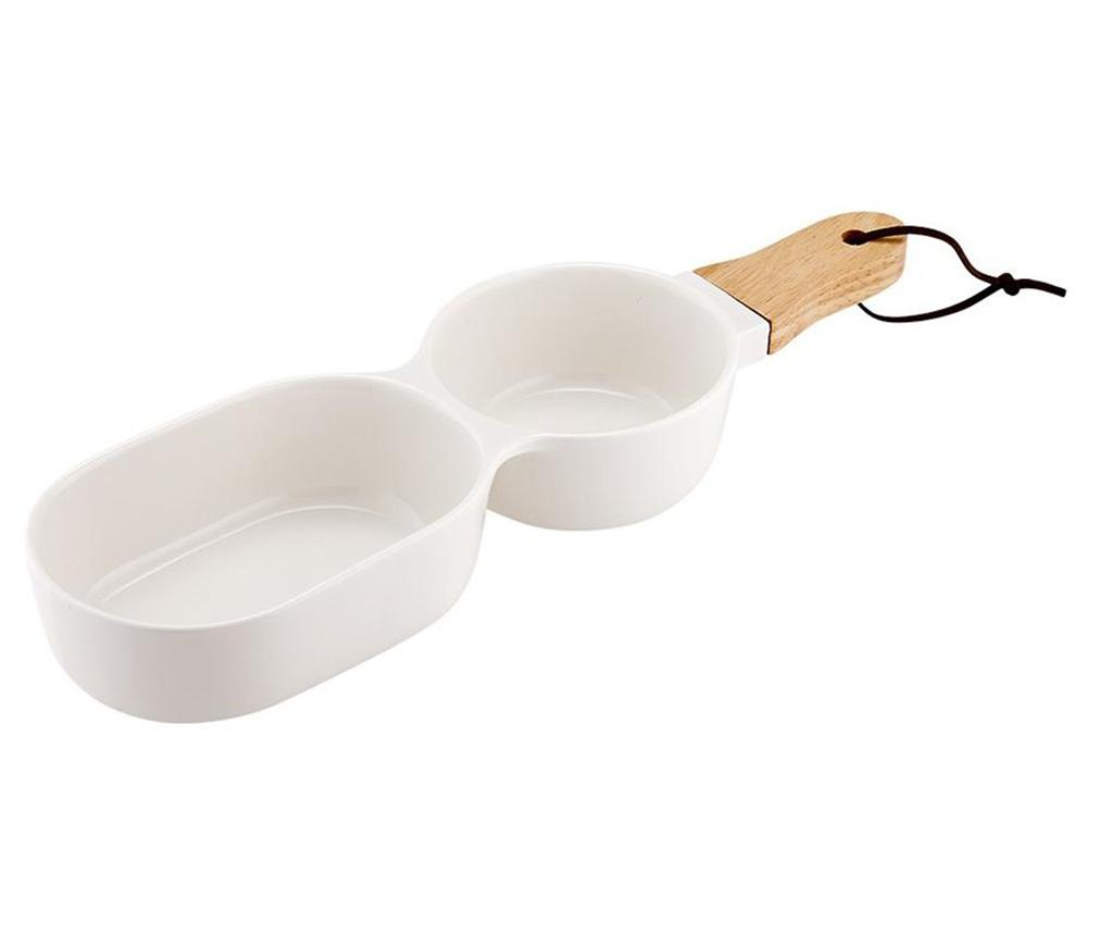 Bol pentru aperitive Classic Serve Two White