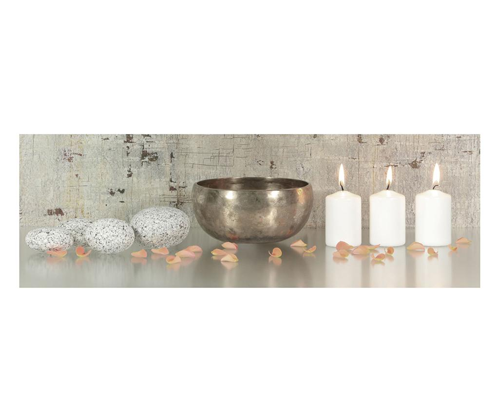 Tablou Candle Relax 30x90 cm