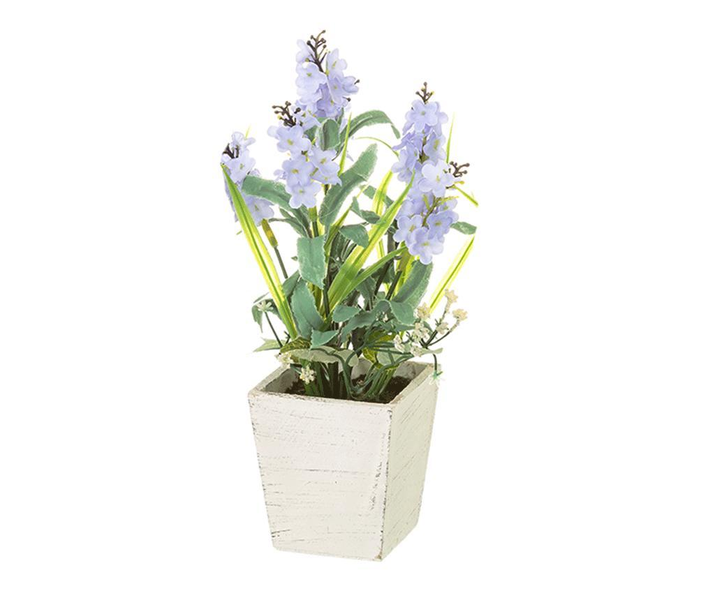 Planta artificiala in ghiveci Lavander Blue