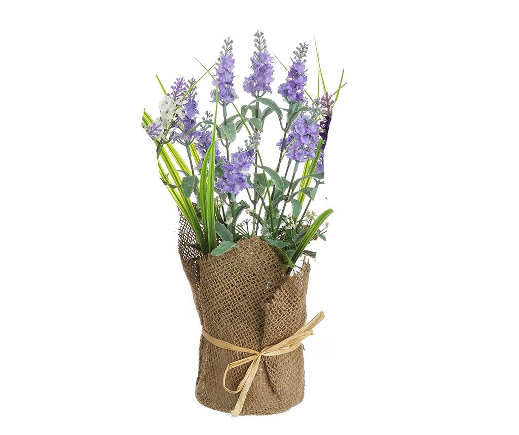 Planta artificiala in ghiveci Lavander High Blue