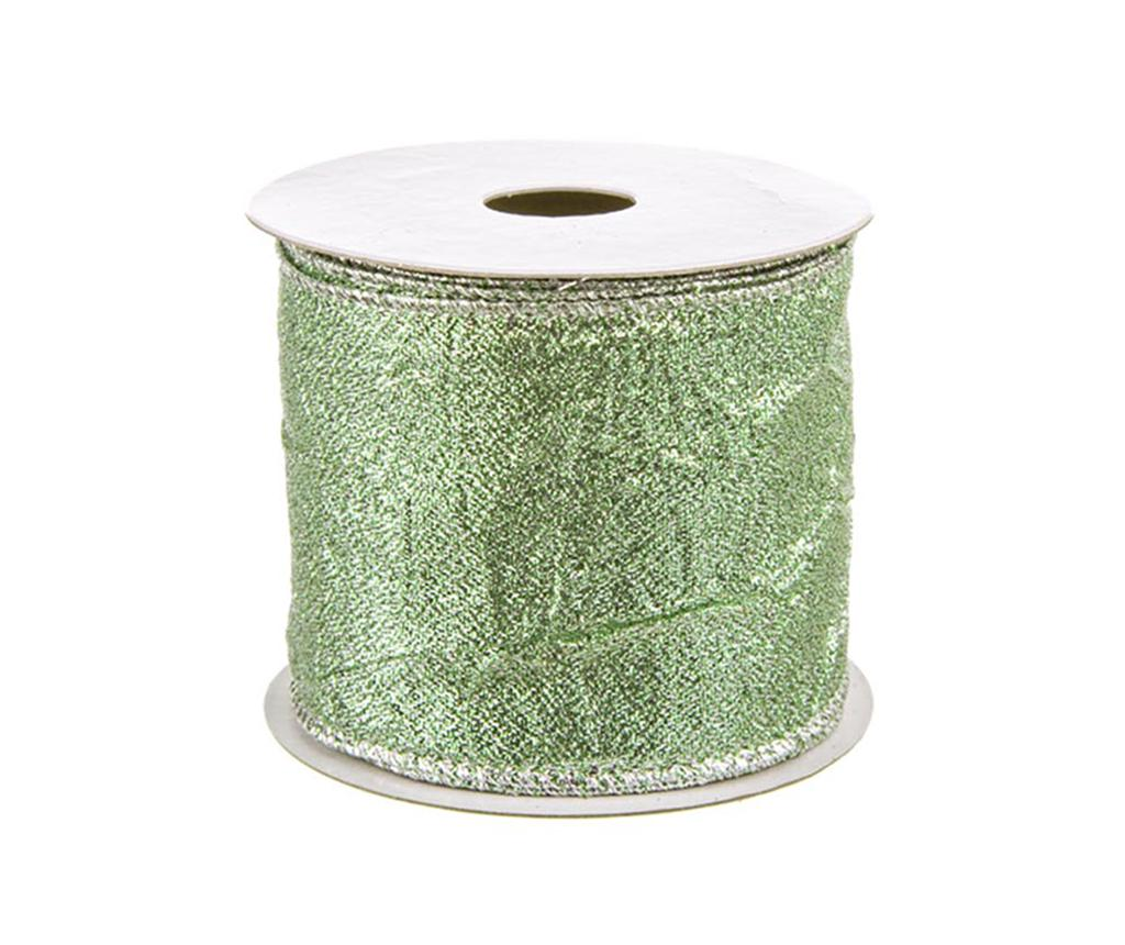 Panglica decorativa Embossed Green 400 cm