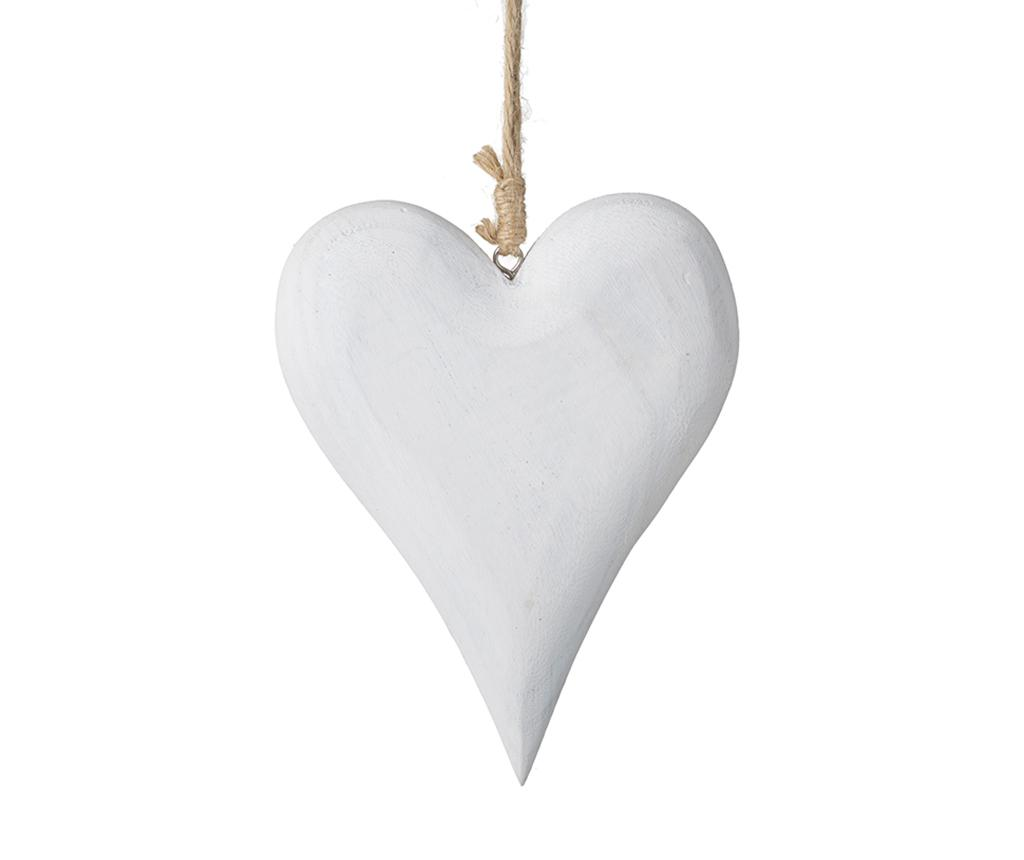 Decoratiune suspendabila Hanging White Heart