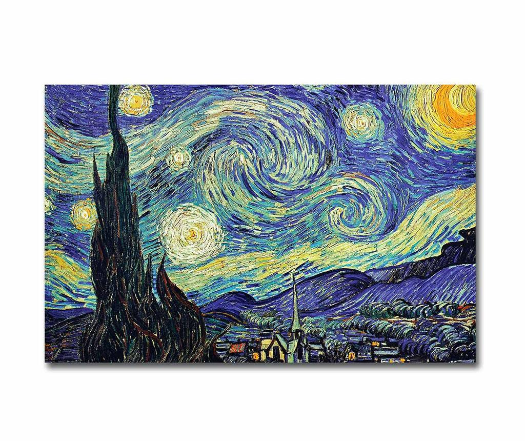 Tablou Starry Night 45x70 cm