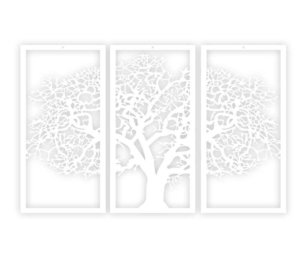 Decoratiune de perete White tree