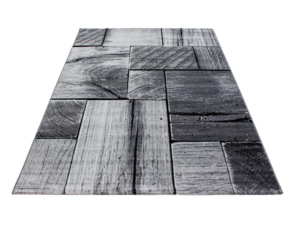 Covor Parma Wood Black 160x230 cm