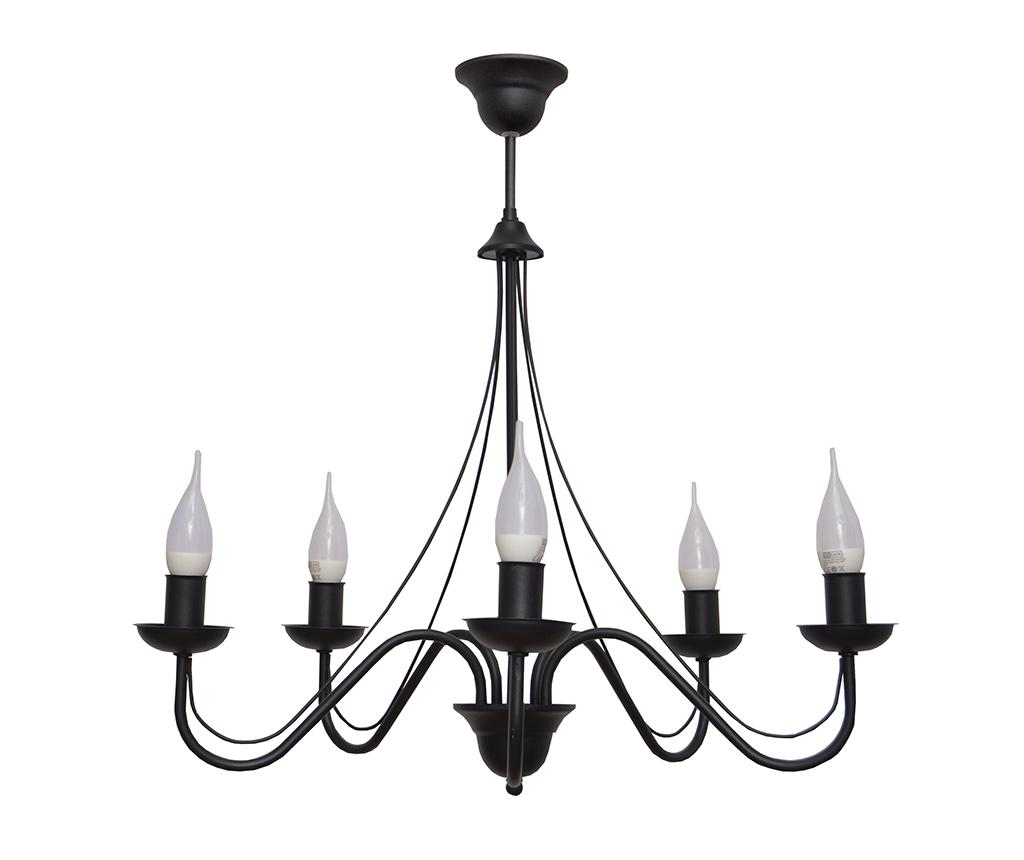 Candelabru Malbo Black Five