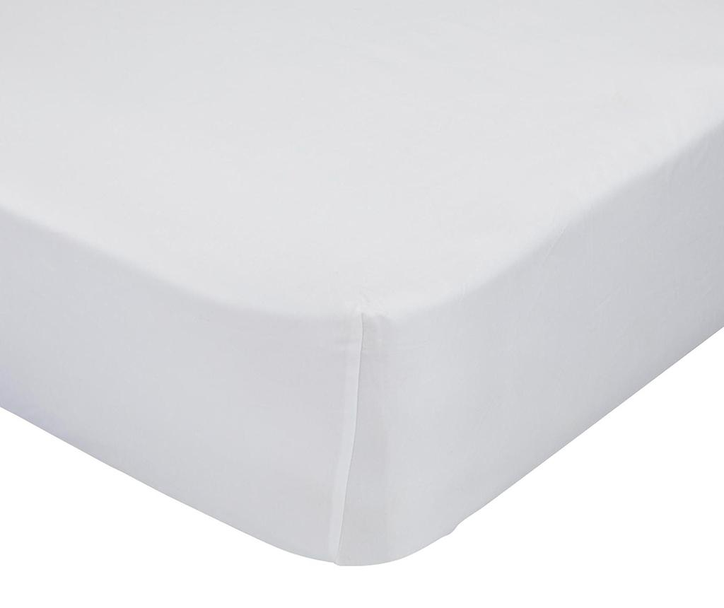 Cearsaf de pat cu elastic Good Night White 140x200 cm