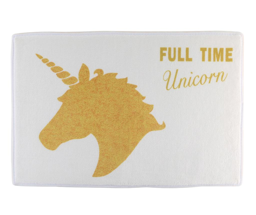 Covoras de baie Full Time Unicorn 40x60 cm