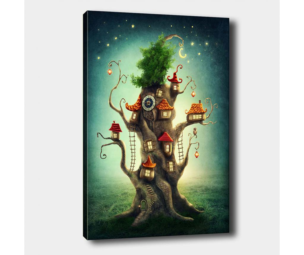 Tablou Tree House 50x70 cm