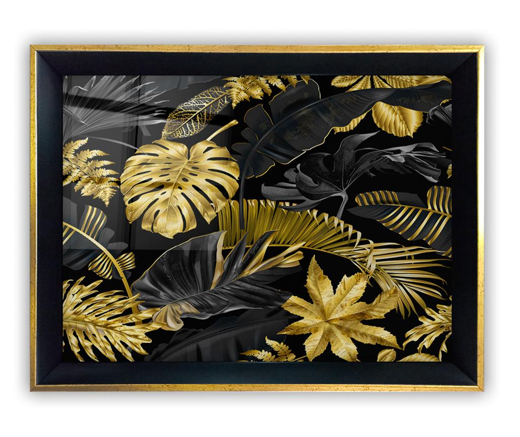 Tablou Yellow Leaves 45x65 cm