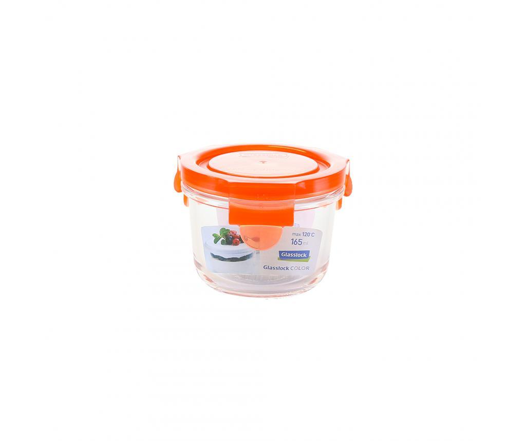 Bol cu capac ermetic Compact Classic Orange 165 ml