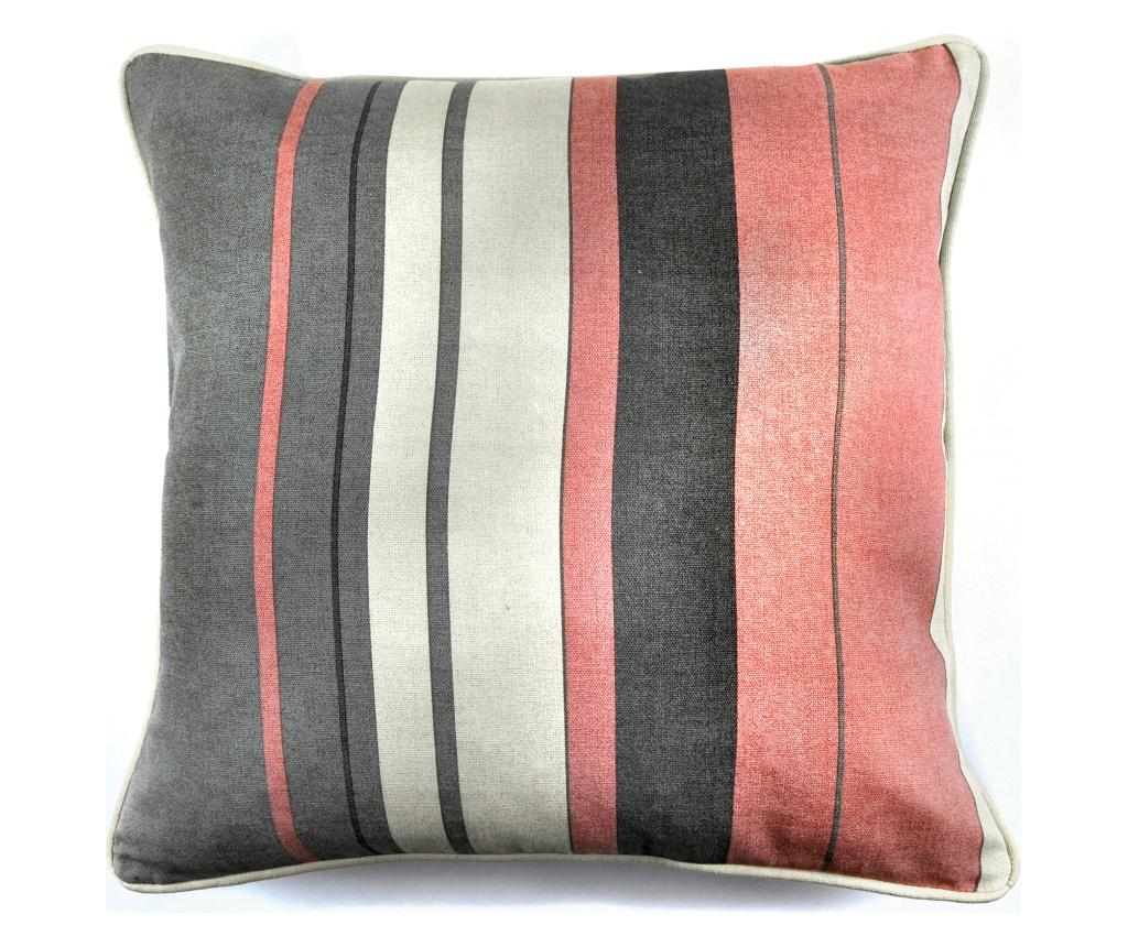 Fata de perna Whitworth Stripe Pink 43x43 cm