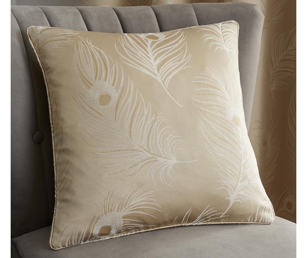 Fata de perna Feather Cream 43x43 cm
