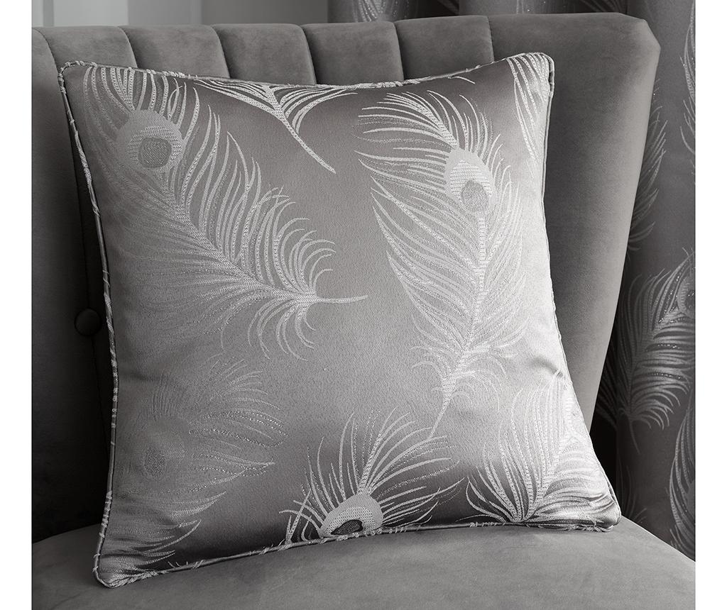 Fata de perna Feather Grey 43x43 cm