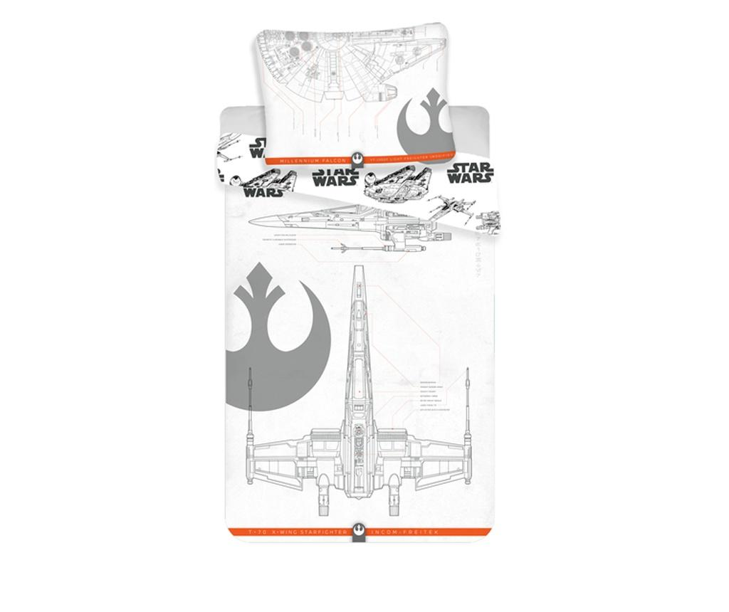 Set de pat Single Ranforce Star Wars