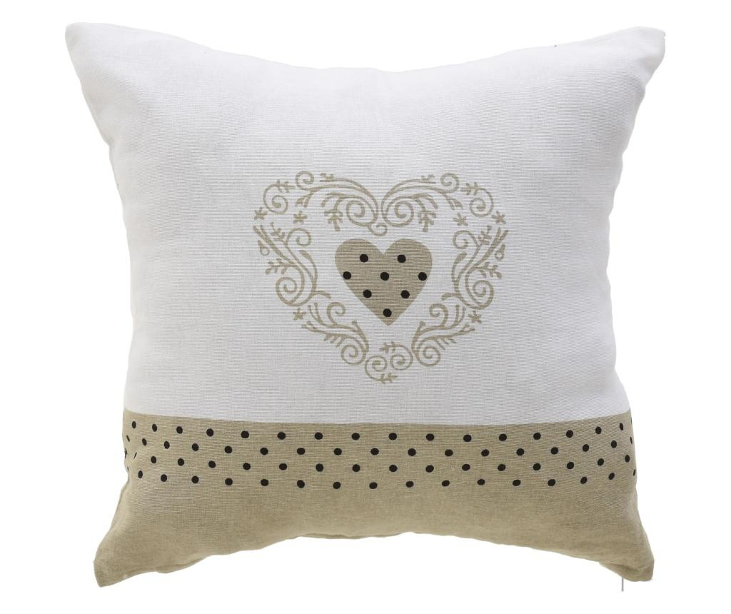 Perna decorativa Heart Dots 40x40 cm